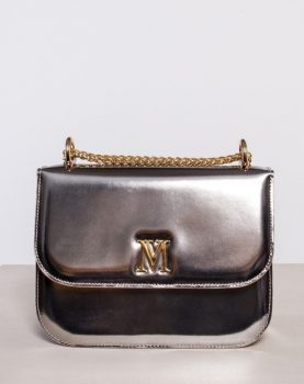 bag leather gold